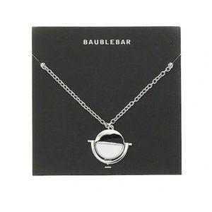 Baublebar Necklace Pendant Silver chain Unique NEW